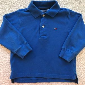 Nautica 2T Long sleeve polo shirt